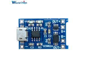 5PCS Micro USB 5V 1A 18650 TC4056A Replace TP4056 Lithium Battery Charger Module Charging Board With Automatic Protection