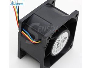 San Ace40 DC 12v 1.1a 6-Wire Dual Fan Assy 9CR0412S504 6-Pin 030416P Sanyodenki