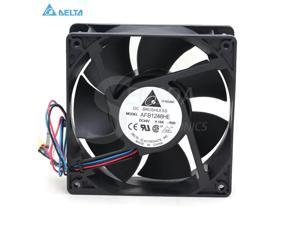 for delta FFB0812SHE 80mm DC12V 0.87A Server Cooling Fans Server Square Fan 3-wire 80x80x38mm