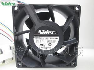 New Original For Nidec 8cm V80E14MS2A3-57A611 8038 13.6V 0.16A 4wire Cooling Fan V80E14MS2A3-57