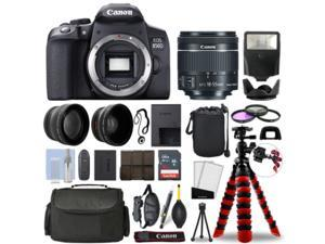 Canon 850D / T8i SLR Camera with 18-55mm STM+ 16GB 3 Lens Ultimate Accessory Kit