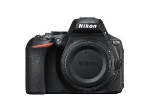 Nikon D5600 24.2 MP DX-Format CMOS Digital SLR Camera Body Black