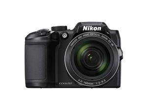 Nikon Coolpix B500 16MP Digital Camera 40x Optical Zoom Black Full-HD WiFi/ NFC