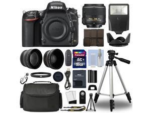 Nikon D750 Digital SLR Camera + 18-55mm VRII 3 Lens Kit + 16GB Top Value Bundle