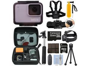 GoPro HERO7 White 10 MP Waterproof Camera Camcorder + 32GB Action Bundle