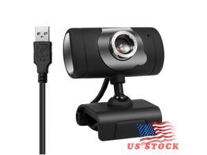 Docooler USB 2.0 480P Web Camera Laptop Webcam Clip-On Web Cameras Webcams With Microphone For Computer PC Desktop