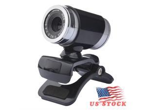 USB Web Camera, HD Webcam with Microphone for PC Computers Laptops, USB Clip-On Web Cam 360 Degree Rotatable for Notebook Camera