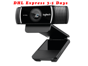 C922 Pro Stream Webcam 1080P Camera for HD Video Streaming & Recording At 60Fps Background Replacement