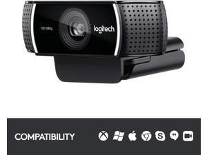 Logitech C922 Pro Stream Webcam – Full 1080p HD Camera