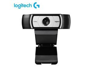 Logitech C930e C930C Webcam 1080P H.264 Video Calling Computer Camera Business Remote Online Teaching Web Cam Clip-on Camera With Mic For Laptop Notebook Monitor