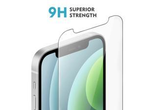 Tempered Glass Film for Apple iPhone 12 pro max Screen Protector and iPhone 6.7 Screen Protector, with (Easy Installation Tray) Anti Scratch, Bubble Fre, Amuoc-iphone 12 pro max 3 Pack