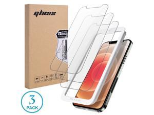 Screen Protector for Apple iPhone 11 Pro/iPhone Xs/iPhone X - 3 Pack (w/Installation Frame) Tempered Glass Screen Protector Compatible iPhone XS/X/11Pro 5.8Inch