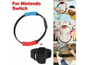 Healthy Exercise Ring Leg Strap Fitness Adventure for Nintendo Switch NS Joy-con