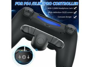 Back Button Attachment Handle Expansion OLED Adapter for PS4/Slim/Pro Controller