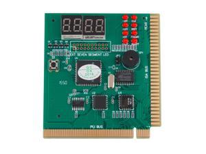 EC2WORLD 4-Digits Analysis Diagnostic Motherboard Tester Desktop PCI Express Card