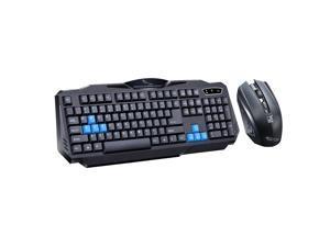DP-iot HOT-Hk8100 2.4G Wireless Gaming Keyboard Mouse Combo Ergonomics Waterproof Optical for Pc Laptop Desktop Gamer