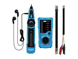 Cat5 Cat6 RJ45 UTP STP Line Finder Telephone Wire Tracker Diagnose Tone Tool Kit LAN Network Cable Tester
