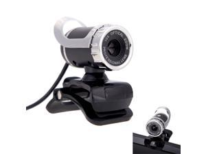 EC2WORLD New 50 Megapixel HD Camera Web Cam 360° w/MIC Clip-on for Desktop Skype Computer