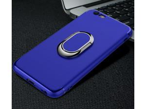 ?Phone Case for iPhone7 plus Magnet Car Holder Finger Ring Cover Matte TPU Phone Case Blue