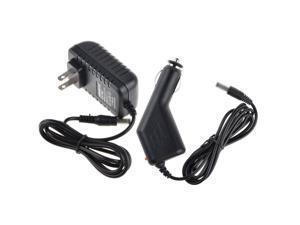 AC Adapter+Car Charger for Vtech Innotab V.tech ...