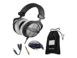 Beyerdynamic DT 990 Pro 250 Ohm Headphones with Splitter and 3-Year Warranty