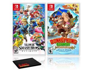 Nintendo Super Smash Bros. Ultimate Bundle with Donkey Kong Country: Tropical Freeze