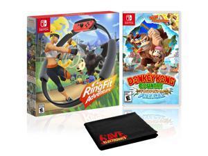 Nintendo RingFit Adventure Bundle with Donkey Kong Country: Tropical Freeze