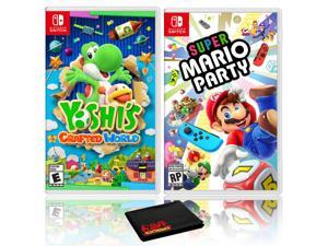 Yoshi's Crafted World + Super Mario Party - Two Game Bundle - Nintendo Switch