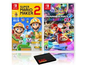 Super Mario Maker 2 + Mario Kart 8 Deluxe - Two Game Bundle - Nintendo Switch