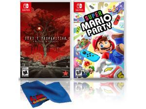 Deadly Premonition 2: A Blessing in Disguise + Super Mario Party - Two Game Bundle - Nintendo Switch