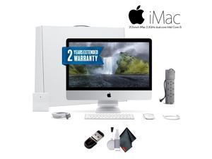 Apple iMac MMQA2LL/A 21.5 Inch Desktop Computer ,2.3GHz Intel Core i5, 8GB RAM, 1TB HDD, Silver,   Office Bundle With Warranty