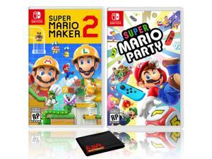 Super Mario Maker 2 + Super Mario Party - Two Game Bundle - Nintendo Switch
