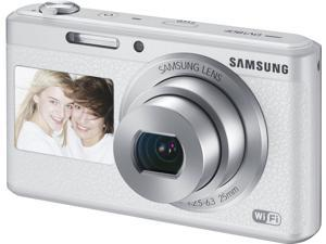 Samsung DV180F 16MP 5x Optical Zoom Smart Camera (White) EC-DV180FBPWE1 - International Version (No Warranty)