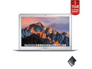 Apple 13 Inch MacBook Air Laptop Computer (Mid 2017 Version, Silver) 128GB SSD with 1 Year Extended Warranty