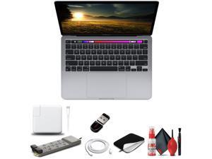 "Apple MacBook Pro W/ M1 Chip 13"", 8GB RAM, 256GB SSD - Silver - Basic Bundle"
