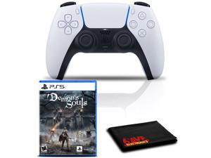 PlayStation 5 DualSense Wireless Controller Bundle with Demon's Souls PS5 Game