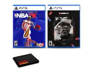 NBA 2K21 and Madden NFL 21 Next Level Edition for PlayStation 5 - Two Game Bundle