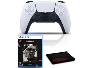PlayStation 5 DualSense Wireless Controller Bundle with Madden NFL 21 PS5 Game