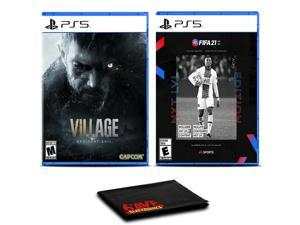 Resident Evil Village and FIFA 21 Next Level - Two Games For PS5
