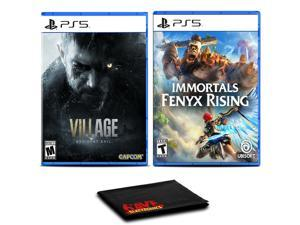 Resident Evil Village and Immortals Fenyx Rising - Two Games For PS5