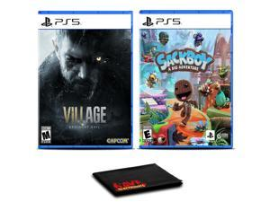 Resident Evil Village and Sackboy: A Big Adventure - Two Games For PS5