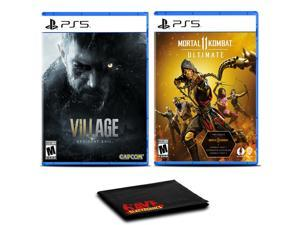 Resident Evil Village and Mortal Kombat 11 Ultimate - Two Games For PS5