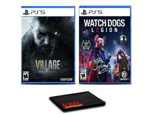 Resident Evil Village and Watch Dogs: Legion - Two Games For PS5