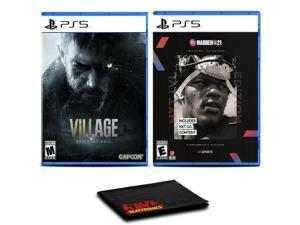 Resident Evil Village and Madden NFL 21 Next Level Edition - Two Games For PS5