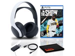 PULSE 3D Wireless Headset Bundle with MLB The Show 21 - PlayStation 5