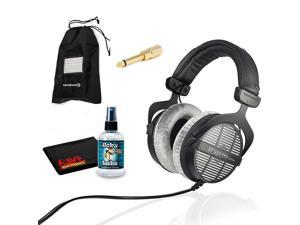 Beyerdynamic DT 990 Pro Studio Headphones with 6Ave Headphone Cleaning Kit and Extended Warranty