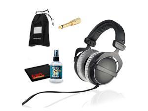 Beyerdynamic DT 770 Pro 250 ohm Professional Studio Headphones with 6Ave Headphone Cleaning Kit and Extended Warranty