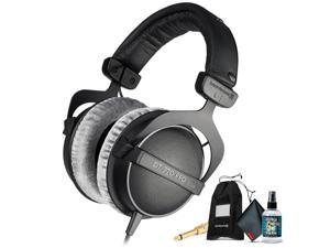 Beyerdynamic DT 770 Pro 80 ohm Professional Studio Headphones with 6Ave Headphone Cleaning Kit and Extended Warranty