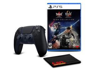 PS5 DualSense Wireless Controller (Midnight Black)  with Nioh Collection