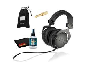 Beyerdynamic DT 770 Pro 32 ohm Professional Studio Headphones with 6Ave Headphone Cleaning Kit and Extended Warranty
